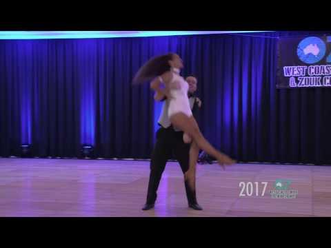 Scott & Rebecca Pro Zouk Routine - OZ WCS & Zouk Champs 2017