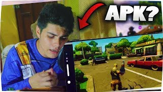 APK of FORTNITE FOR ANDROID MOVIL? IS IT REAL? this HAPPENS!!