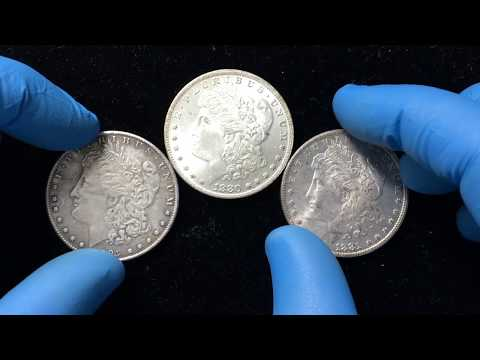 Detecting Counterfeit Carson City Morgan Dollars - Side By Side Comparison