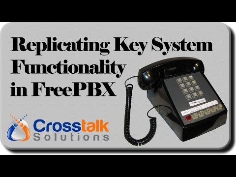 Replicating Key System Functionality in FreePBX