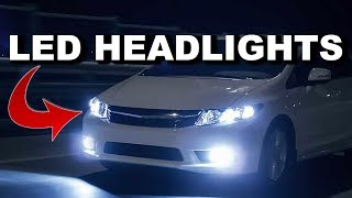 ChrisFix Parody: How To Replace Halogen Headlights with LEDs