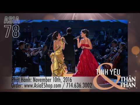 ASIA 78 - TÌNH YÊU & THÂN PHẬN DVD TRAILER