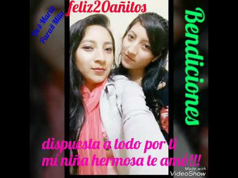 Mi Pequena Menor Hermana Mia Te Amo Mucho Milagritos Youtube