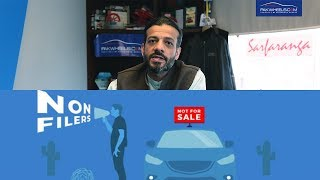 Booking Of Cars for Non filers has Suspended - Suneel On Wheels