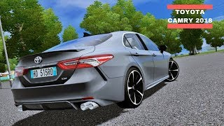 City Car Driving 1.5.5 - Toyota Camry 2018 XSE V6   Day Drive   1080p & G27