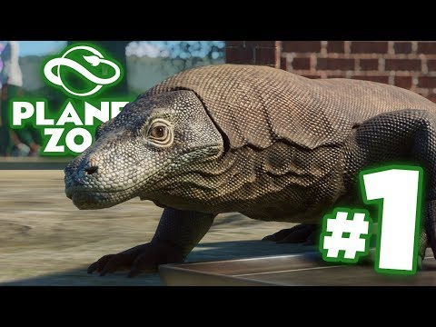 WE CREATE THE ZOO OF OUR DREAMS! - Planet Zoo Ep1 HD