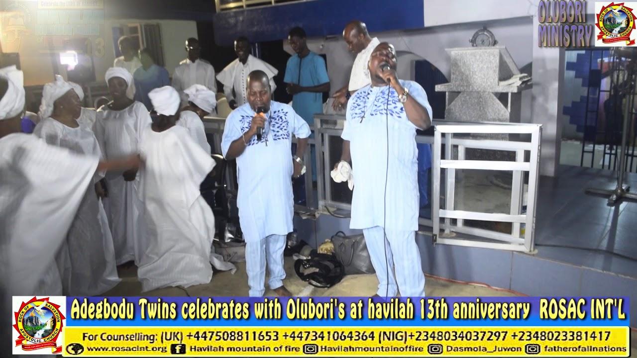 Download ADEGBODU TWINS LIVE AT HAVILAH 13TH ANNIVERSARY (ROSAC)