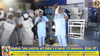 ADEGBODU TWINS LIVE AT HAVILAH 13TH ANNIVERSARY (ROSAC)