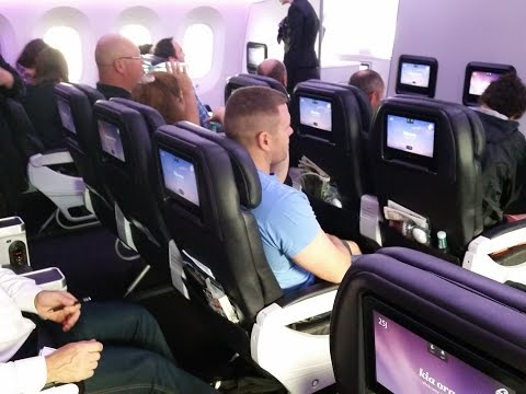 Air New Zealand Boeing 787-9 : Sydney to Auckland in Premium Economy