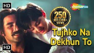 Tujhko Na Dekhun - तुझको ना देखूं तो दिल घबराता है - Jaanwar Song - Akshay Kumar - Udit Narayan