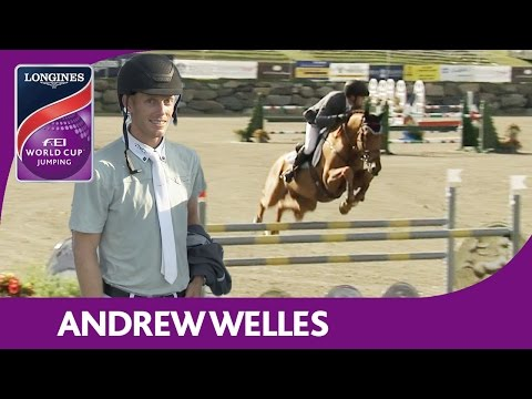 2nd: Andrew Welles | Longines FEI World Cup™ Jumping 2016/17 | Bromont (CAN)