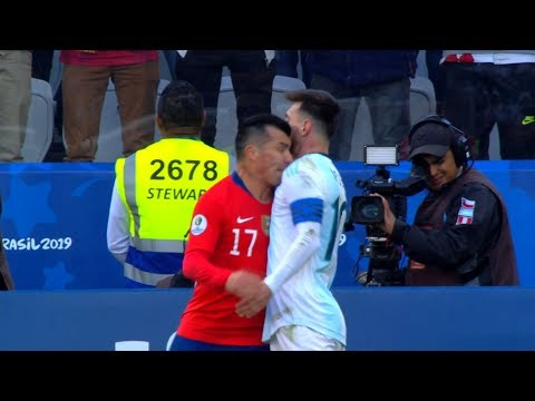 Lionel Messi vs Chile | 2019 HD 1080i