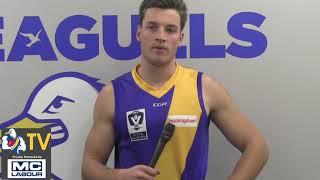 Liam Carter Round 16 VFL Review