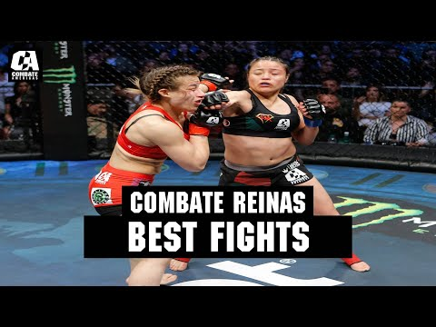 "Melissa ""Super Mely"" Martinez Headlines The Best Fights Of Combate Reinas 