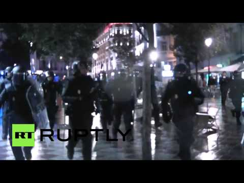 Spain: Clashes erupt in Madrid anti-austerity demo