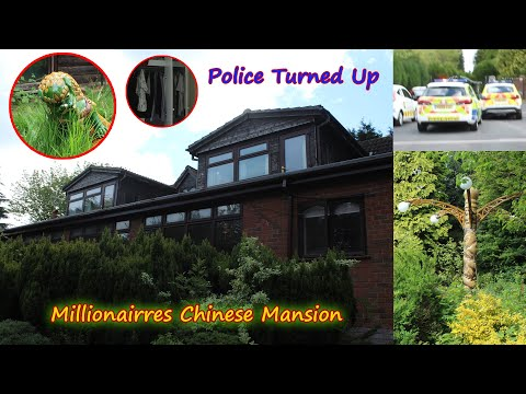 Chinese Millionaires Mansion | Abandoned Places UK | Urban Exploration | Caught By Police Gone Wrong
