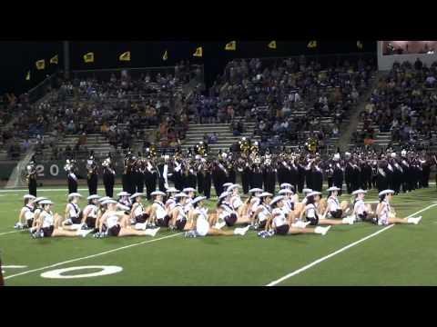 Brownwood High School Drill Team Halftime Show - Brownwood vs Stephenville Game