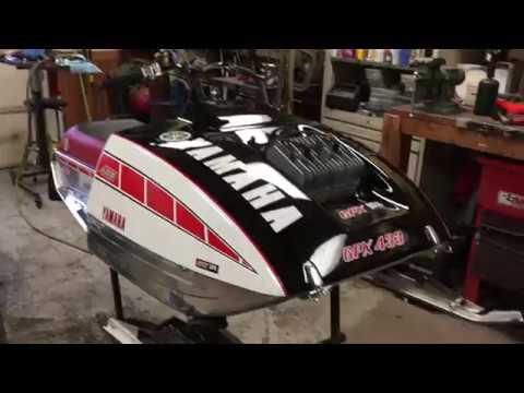 1975 Yamaha GPX 433 sno pro - YouTube