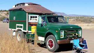 Full-time RV living: Crazy cool custom tiny house truck and interview