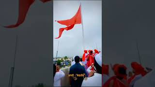 Tallest Hindu Flag At Belgaum Karnataka  आपलं बेळगांव  Kapileshwar Temple Belgav   Hindu Flag🚩भगवा🚩🔥