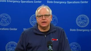 WATCH LIVE: Gov. Walz, Mayor Frey hold press conference amid 4th night of unrest