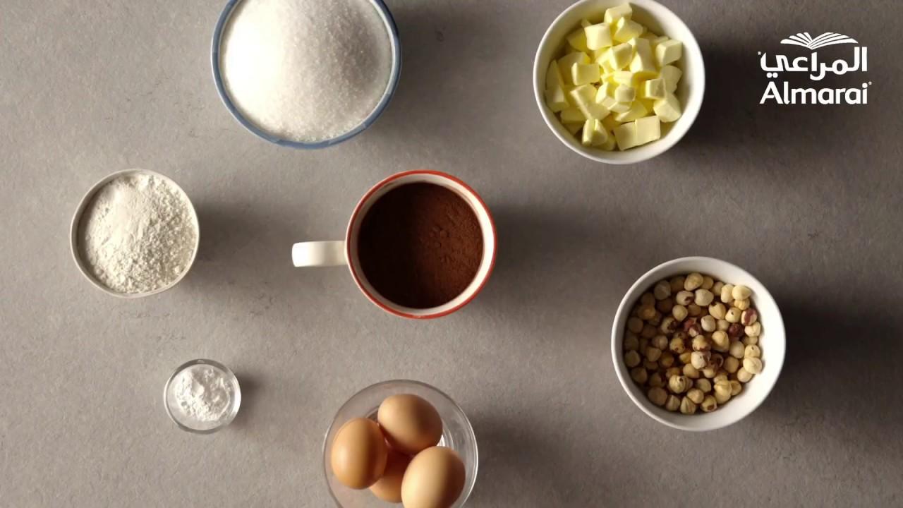 وصفة البراونيز بالشوكولاته