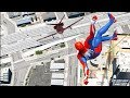 GTA 5 SPIDERMAN Mod Ragdolls Compilation #3 (GTA 5 Fails Funny Moments/Ragdolls)
