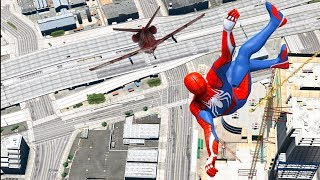GTA 5 Epic Ragdolls/Spiderman Compilation vol.3 (Euphoria Physics, Fails, Jumps, Funny Moments)