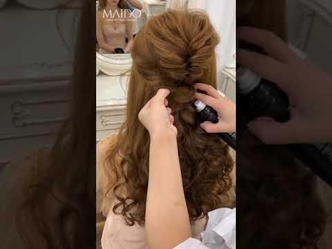 Hướng dẫn làm tóc cô dâu theo Style Vintage đơn giản, dễ làm