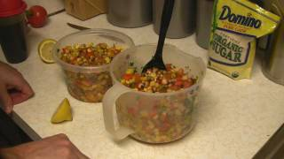 Black Eyed Pea Salad Recipe Delicious!