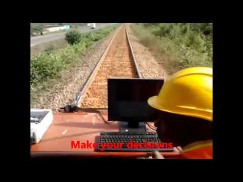 Railway track Rail maintenance flaw detection inspection Quintech