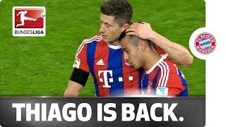 FCB Delight as Thiago Makes His Long-Awaited Comeback