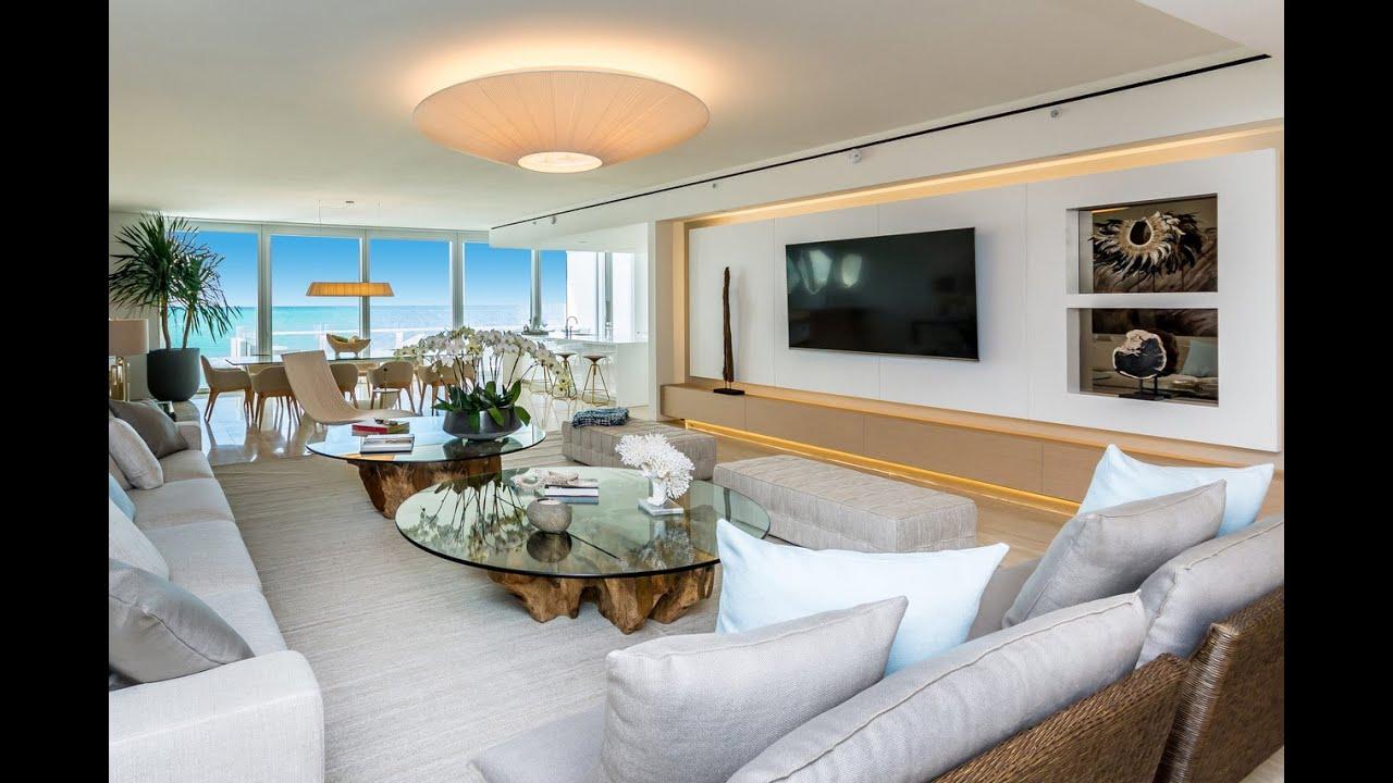 sensational design miami home and design show. Sensational Ocean Views at The Surf Club Four Seasons  9111 Collins 417 Miami Beach Luxury Condo