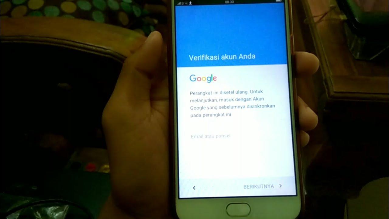 Bypass Account Google Frp Oppo F1s Tanpa Pc Youtube
