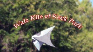 Wala Kite Zero Wind Kite at Keck Park in Coalinga Ca. Thumbnail