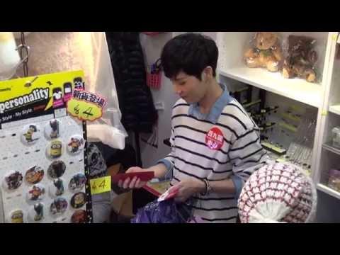 N-SONIC(엔소닉) Shopping In Hong Kong 20141221