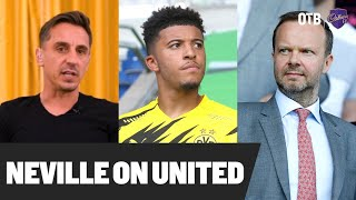 Gary Neville: 'Embarrassing' United not smart enough in dealings | #MUFC transfers | OTB