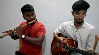 janam janam sath chalna dilwale song on flute with guitar
