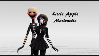 - Little Apple Marionette MMD Five Nights At Freddys