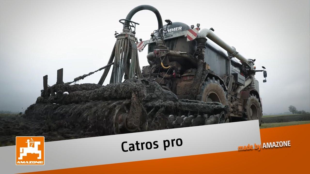 Kompaktscheibenegge Catros mit pro-Paket - Praxisbericht Michael Hesselbach   AMAZONE