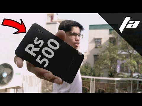 Best power bank under Rs 500 2018 | 7 mm thick available online