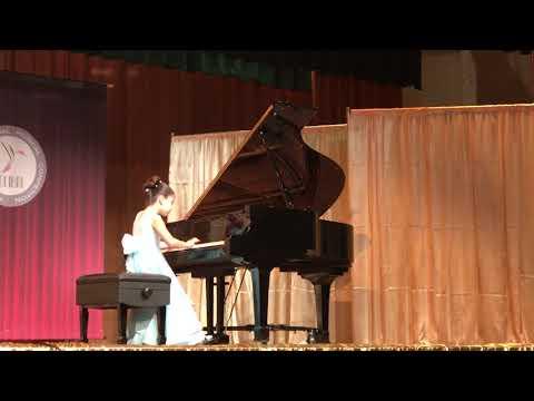 Sofi Manassyan, 9 y.o. Piano competition, Los Angeles.