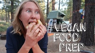 WHAT I ATE TODAY WHILE CAMPING | VEGAN