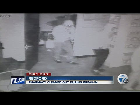 Redford pharmacy cleaned out of narcotics during heist