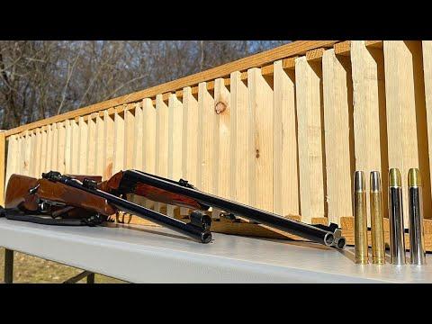 Elephant Rifles vs Pine Board Box 💥 (SURPRISING RESULTS)