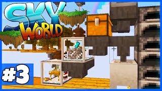 """ALLES automatisch! (Dias + Erze + Stein + Lava) - Minecraft """"SKY WORLD"""" #3"""