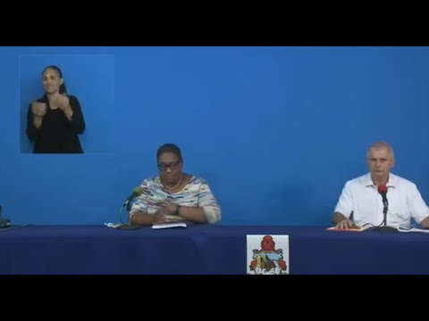 Govt Press Conference On TS Paulette, Sept 12 2020