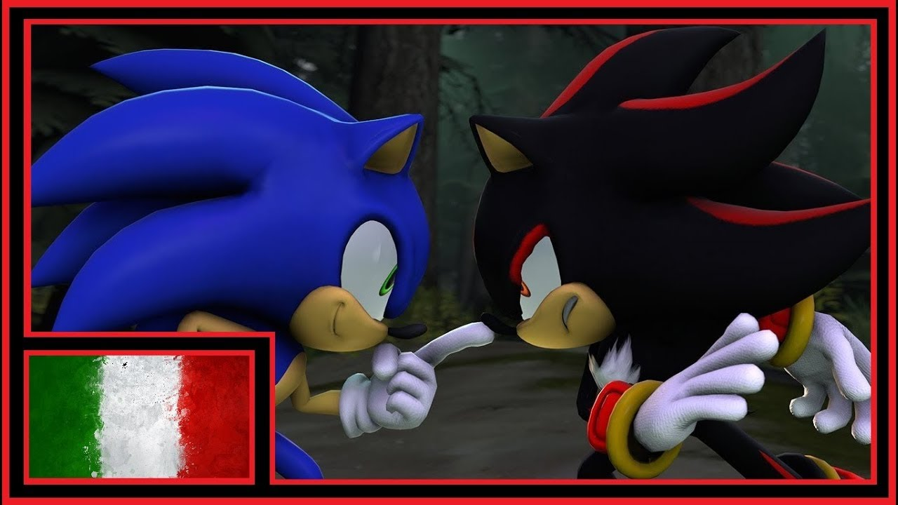 Sonic Vs Shadow Sfm Hypo Doppiaggio Ita Youtube