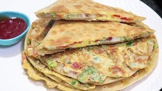 vuclip Mughlai Egg Paratha Recipe | Crispy and Tasty Paratha Recipe | Breakfast Special Recipe