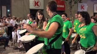 Batucada Samba da Praça vs Sambalá - Fiestas San Lorenzo Huesca 2014 (UHD/4K)